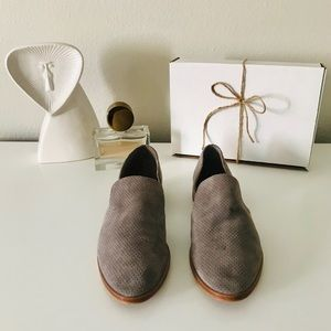 Dolce Vita Grey Leather Cody Flats
